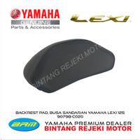 BACKREST PAD / Busa senderan Yamaha Lexi - Yamaha Genuine Accessories