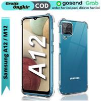 Case Samsung Galaxy A12 M12 Softcase Anti Crack Anti Shockproof