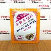 ILC bah kut tea spices 20 gram - bumbu instant bakut teh