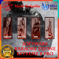 DVD APLIKASI SOFTWARE KARAOKE DZONE 8 EXTREME FULL VERSION ALL PC
