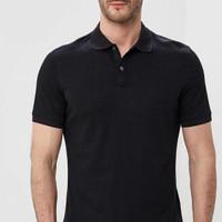 Polo shirt pria branded Banana Republic ORIGINAL NEW black