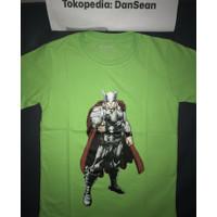 Kaos anak baju anak Thor size 4-12th