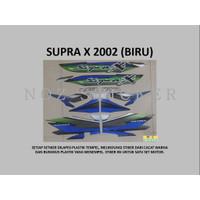 STIKER SUPRA X 2002 MOTOR HONDA List Striping Sticker