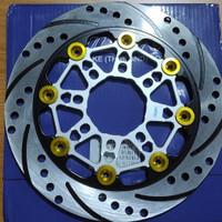 Disk Disc Piringan Cakram Depan Nissin 220 Mm Floating Warna Mio Beat