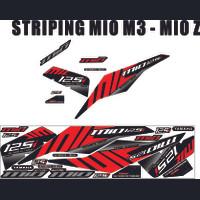STICKER MOTOR / STRIPING THAILOOK / STRIPING MIO M3 DAN MIO Z MERAH