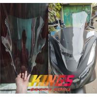 Visor Windshield Honda New PCX 160 Model Sport / Batman Bahan Arklirik