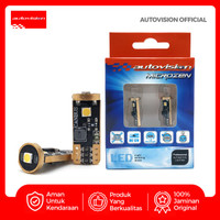 Lampu Senja Autovision T10 3 3030 SMD LED CANBUS 10-14V