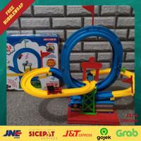 Mainan Anak Train Kereta Thomas Lintasan Track Rel Loop Melingkar