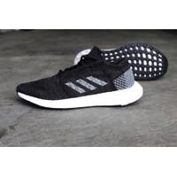 Sepatu Original Adidas Pureboost GO black grey bnwb