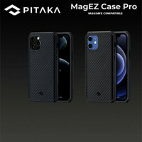 Pitaka MagEz Pro Real Aramid Carbon Case iPhone 12 Pro Max Mini - 12 Pro Max
