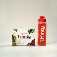 TRIMTY FIBER DIET PELANGSING HERBAL 1 BOX BPOM FREE GIFT