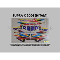 STIKER SUPRA X 2004 Motor Honda List Striping Sticker