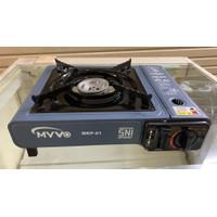 Kompor gas portabel MYVO - kompor MYVO portabel 2 in 1 garansi