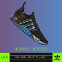 [DISKON] Adidas NMD R1 V1 X Juju Smith / ORIGINAL 100% BNIB / NMD_R1 - 8.5