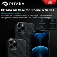 Pitaka Air Real Aramid Carbon Slim Thin Case iPhone 12 Pro Max Mini - 12 Pro Max