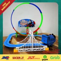 Mainan Anak Train Kereta Api Thomas Lintasan Rel Track Loop Melingkar