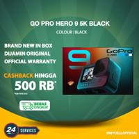 GoPro Hero 9 5K Black Action Camera Gopro Original Resmi TAM / Inter - Inter Black