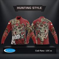 Baju Berburu Babi Seram - Hunting Camo - Baju Camo - Kaos Berburu