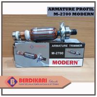 MODERN Armature M-2700 Mesin Router Profil Trimmer Trimer Angker M2700