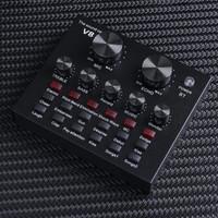 Sound card V8 Mixer Bluetooth SoundCard V8 Audio Soundcard