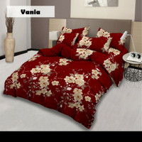 Bedcover Lady Rose Rumbai 180x200 King Size No.1