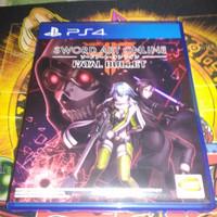 Kaset BD PS4 Sword art online Fatal bullet reg 3