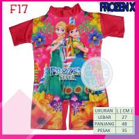 Baju Renang Anak Frozen Junior 2-4 Tahun