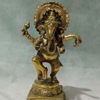 arca sri Ganesha berdiri 30cm