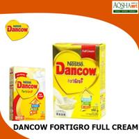 NESTLE DANCOW FORTIGRO FULL CREAM INSTANT COKELAT SUSU BUBUK BOX 200G
