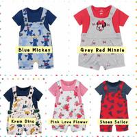 Baju Kodok Anak Perempuan Laki Laki Jumper Overall Setelan Rompi Bayi
