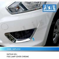 Datsun Go Go List Lis Garnis Cover Ring Chrome Foglamp Depan