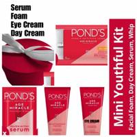 Paket Ponds Age Miracle Day/Night/Serum/Facial Foam/Eye Cream Pond's