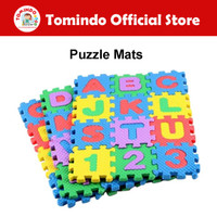 HARGA GROSIR - Mainan Edukasi Anak Matras Huruf Abjad Angka Puzzle Mat
