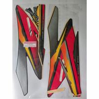 Striping sticker list body motor honda gl pro 97 1997 merah