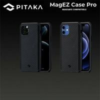 Pitaka MagEz Real Aramid Carbon Case iPhone 12 Pro Max Mini