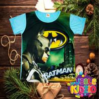 Kaos / Baju Anak Lelaki Murah Lengan Pendek Batman 03 1 - 12 Thn - 9 - 10 Tahun