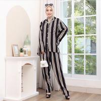 Baju Tidur Piyama Wanita Jumb Rayon Premium Amro Ld 120