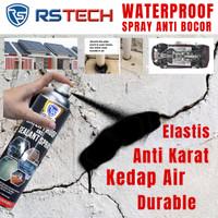 Waterproof Spray Anti Bocor Penambal Cat Karat Plingkut Kolong Mobil