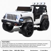 Mobil aki jeep rubicon wrangler 2024 ban karet