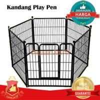 Kandang Pagar / Play Pen Fences Hewan Anjing Kucing Kelinci Ayam