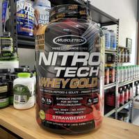 Muscletech nitrotech whey gold 5.5lbs bpom resmi