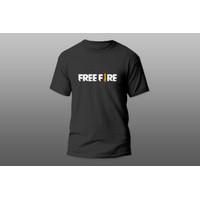 AERON SHOP - fashion pria / kaos pria kekinian / Kaos FREEFIR - Hitam, M