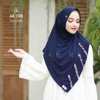 Jilbab Hijab Arrafi AR 198 Kerudung Bergo Instan Terbaru