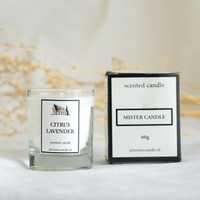 LILIN AROMATERAPI PREMIUM 60gr - SCENTED CANDLE Natural WAX
