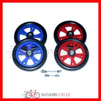 Ban Sepeda Anak Roda Mati Ukuran 12 Sepasang Warna