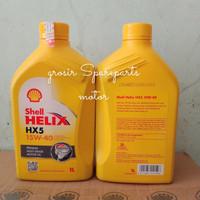 oli shell helix HX5 1liter 15W - 40 12x1liter perdust