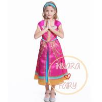 Kostum Princess Jasmine Kaftan anak perempuan baju muslim /Dress anak