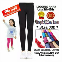 Legging Anak Usia 3-12th Bahan Spandex