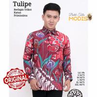 Motif Tulipe - Baju Batik Tulis Modern Murah Kualitas Bagus