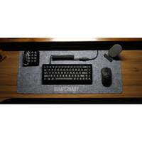 Mousepad Desk Top Felt Keyboard Deskmat Deskpad Wool Table Cover